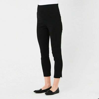 Ripe Maternity Suzie Stretchy Capri Pants - Black