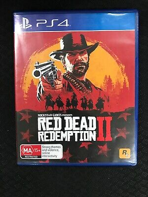 RED DEAD REDEMPTION 2 II Playstation 4 - $26 00 | PicClick AU