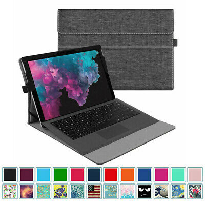 For 12.3'' Microsoft Surface Pro 6 2018/Pro 5 2017 Bluetooth Keyboard Case Cover