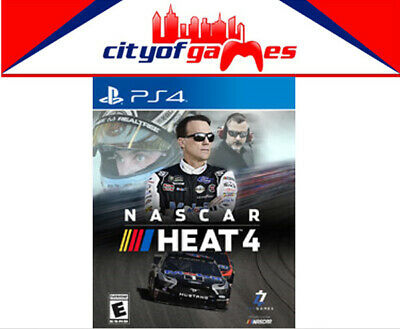 NASCAR Heat 4 PS4 Game Brand New & Sealed Pre Order