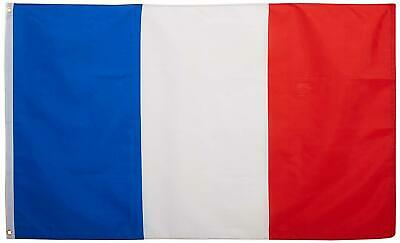 Large French France Flag Heavy Duty Outdoor 90 X 150 CM - 3ft x 5ft
