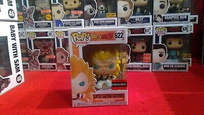 FUNKO POP! DRAGON BALL Z 622 SUPER SAIYAN GOTENKS AAA Anime EXC.