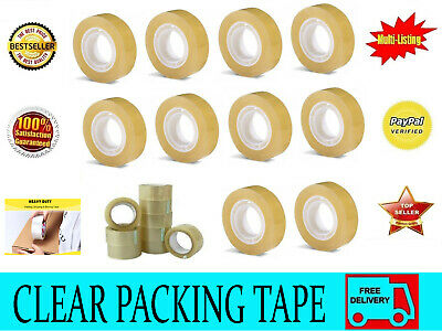 48 Mm X 250 M Clear Strong Parcel Packing Tape Cartoon Sealing Transparent Tape