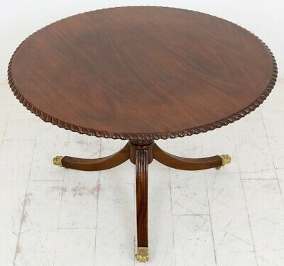 Round Antique Dining Table - Georgian Mahogany Tables
