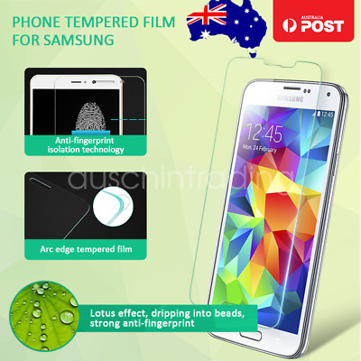 Premium Tempered Glass Screen Protector Film Guard for Samsung Galaxy Note 5