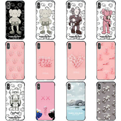 Creative Rimless KAWS Phone Soft Cover For iPhoneX XR XS MAX 6 7 8Plus Case