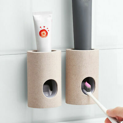 Suit Device Automatic Toothpaste Squeezer Dispenser Toothbrush Holder Extrusion