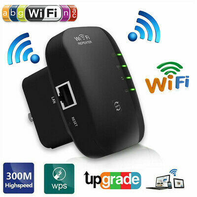 Wireless Signal Booster WiFi Range 300Mbps Extender Amplifier WiFi Repeater USA
