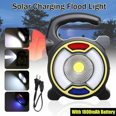 Outdoor 30W USB Charging LED Portable Spot Lamp Solar Rechargeable Flood Light