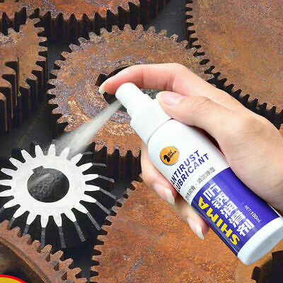 Rust Inhibitor Rust Remover Derusting Spray Car Maintenance Cleaning D7W7
