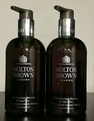 Molton Brown Fabled Juniper Berries & Lapp Pine Hand Wash 300ml X 2 Gift