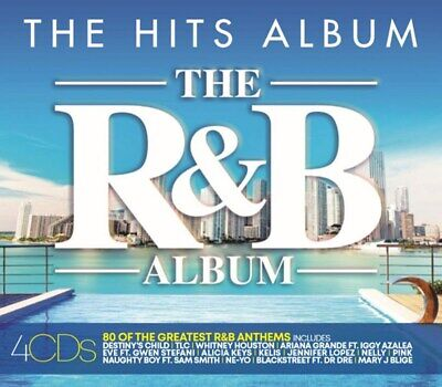 The R&B Album - Alicia Keys 50 Cent [CD] Sent Sameday*