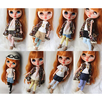 MagiDeal 1//6 Doll Clothes Handmade Lace Leggings Pants For Blythe Doll Accs