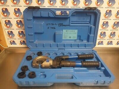 Cembre HT131-C, two speed hand hydraulic crimper crimping tool (V)