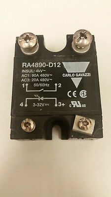 CARLO GAVAZZI RA4890-D12 RA4890D12 NEW NO BOX