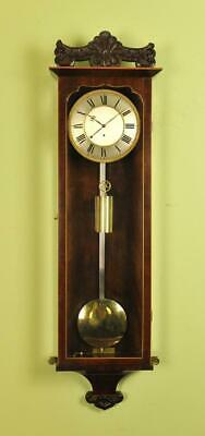 Early Vienna Regulator Wall Clock