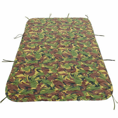 Genuine Dutch Army DPM Camouflage Poncho Liner Woodland Survival Woobie UK