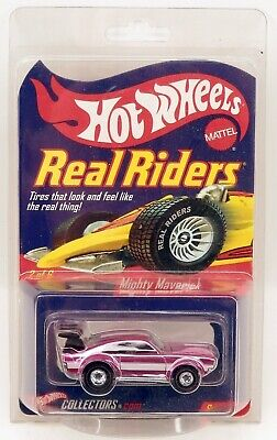 Hot Wheels Redline Club Mighty Mavrick Pink Real Riders Limited Edition MOC