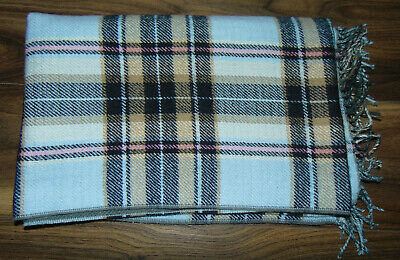 River Island Scarf Super Soft Checked Tartan Warm Autumn Winter Thick Long