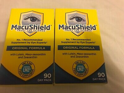 2 boxes MacuShield - 90 Capsules - 180 capsules 6 months supply brand new.
