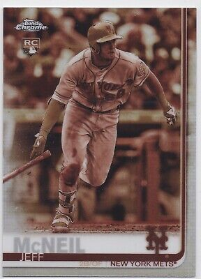 2019 Topps Chrome Sepia Refractor You Pick From List