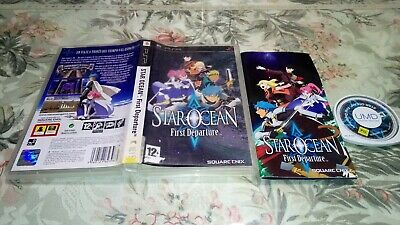 STAR OCEAN FIRST DEPARTURE psp pal España spa esp