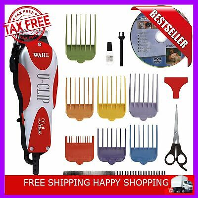 WAHL PET CLIPPERS Professional Heavy Duty Trimmer Thick Hair Dog Grooming Kit