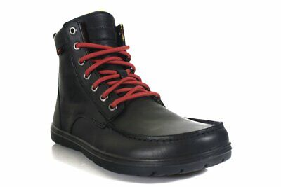 Lems - Boulder Boot - Raven (Leather) (Unisex)