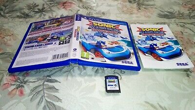 SONIC ALL STARS RACING TRANSFORMED ps vita pal España psv psvita playstation