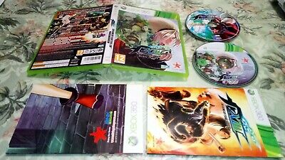 KING OF FIGHTERS XIII DELUXE EDITION xbox 360 pal España + poster + art cd KOF