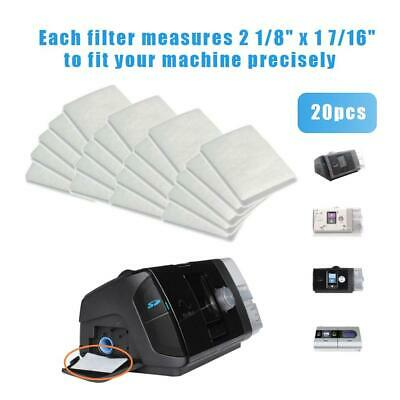 20Pcs Resmed AirSense 9/10 Universal Replacement Disposable CPAP Air Filters Kit