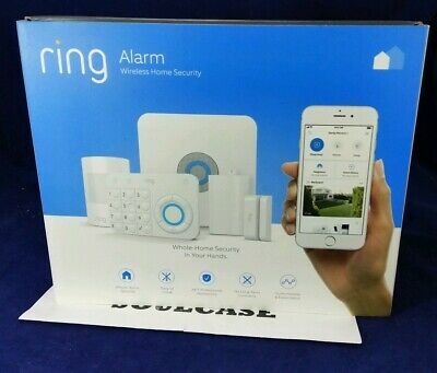 New Ring Alarm 5 Piece Whole Home Security System With Optional 24/7 Monitoring
