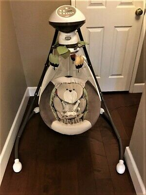 New Fisher Price Snugabear Cradle Swing Replacement