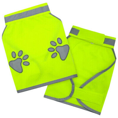 Puppy Walking Exercise Dog Vest Safety Reflective High Visibility Pet Clothes