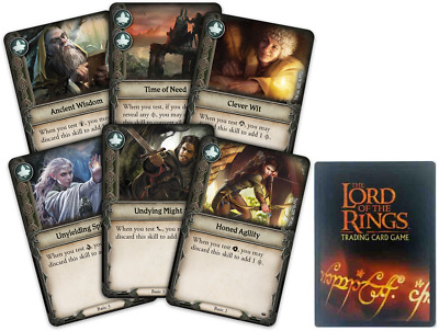 Lord of the rings card lot x100
