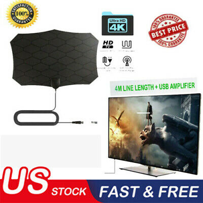 960 Mile Range Antenna TV Digital HD HDTV 1080p Skywire 4K Antena Digital-Indoor