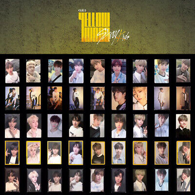 Stray Kids - Special Album Cle 2 : Yellow Wood Photo Card Hyunjin Felix Leeknow