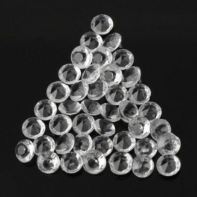 5000pcs Clear Diamond Confetti Scatter Wedding Table Decor 4.5mm Crystal A MBZ