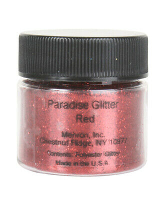 Mehron Red Paradise Body Glitter One Size