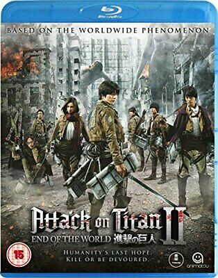 Attack on Titan The Movie -  Part 2 End of the World [Blu-ray]