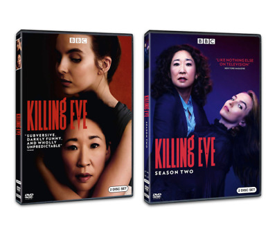 Killing Eve Complete Series One & Two DVD - Season 1 - 2 - First - Second