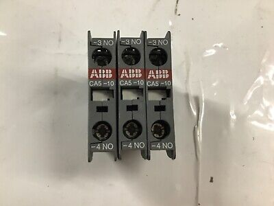 ABB CA5-10 AUXILIARY CONTACT BLOCK (ref133)