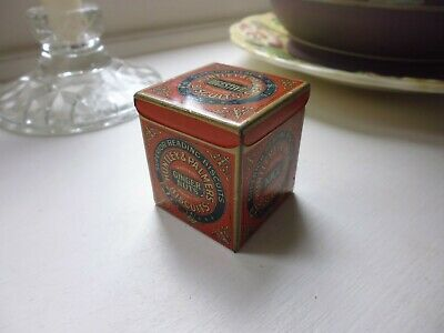 Dollhouse Miniature Tin Vintage Replica of Huntley /& Palmers Biscuits Tin
