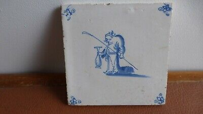 Antique Dutch Delft tile Ancien carreau . XVIIIth C. ...............14