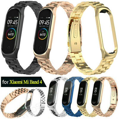 Metal Wristband Stainless Steel Wrist Watch Band Strap For Xiaomi Mi Band 4 2019