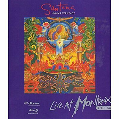 Santana: Hymns for Peace - Live at Montreux 2004 (UK IMPORT) Blu-ray NEW