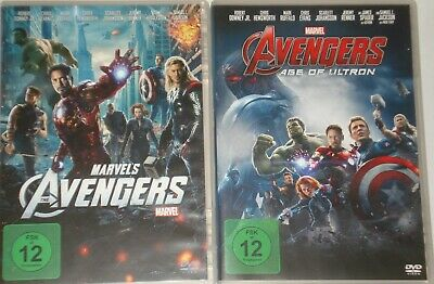 The Avengers Teil 1+2 Avengers Age Of Ultron