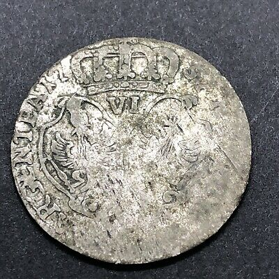 Authentic Post Medieval European Silver Coin Middle Ages Artifact Token Old B3