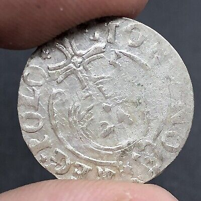Authentic Late/Post Medieval European Silver Coin Middle Ages Artifact Old B5