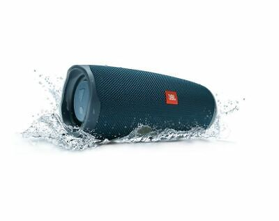 JBL Charge 4 Portable Bluetooth Speaker - Blue - JBLCHARGE4BLUAM